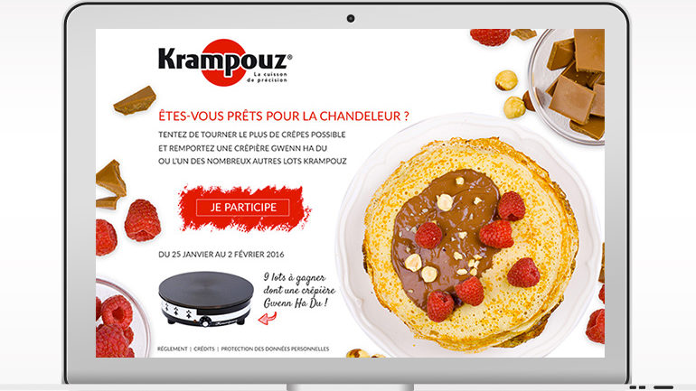"Webmarketing ""Chandeleur"" • Krampouz"