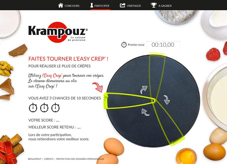 """Webmarketing """"Chandeleur"""" • Krampouz"""