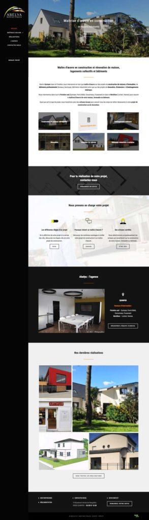 Site internet • Abelya