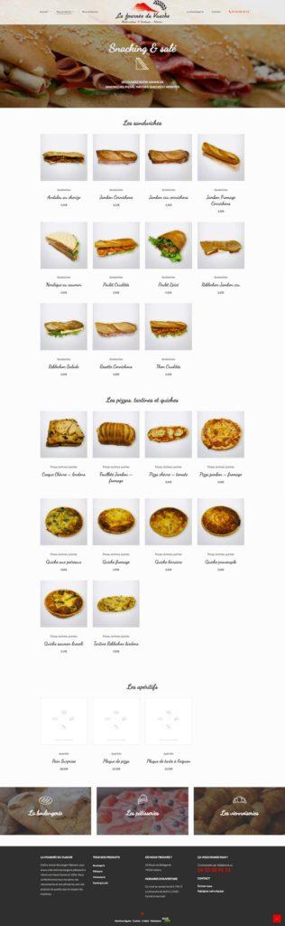 Site internet • Catégorie Snack