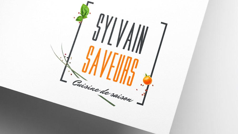Logo • Sylvain Saveurs
