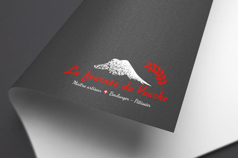 Logo fond foncé - Fournée du Vuache