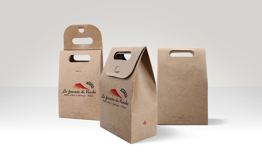 Rendu logo packaging • Fournée du Vuache