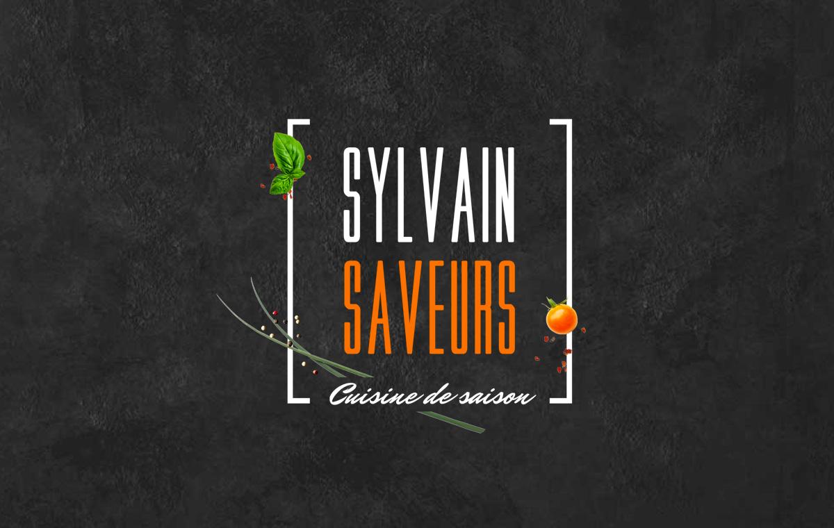 Déclinaison logo • Sylvain Saveurs
