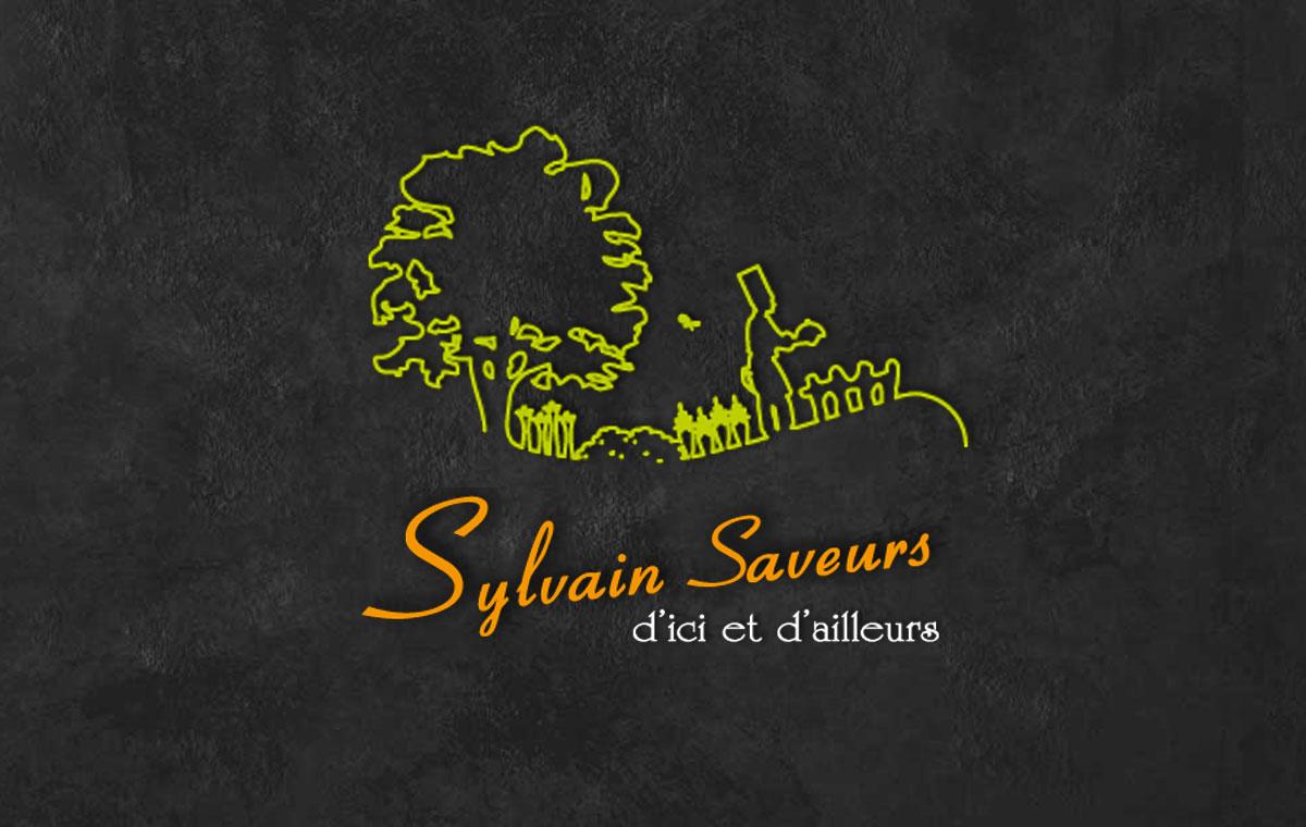 Ancienne version du logo • Sylvain Saveurs