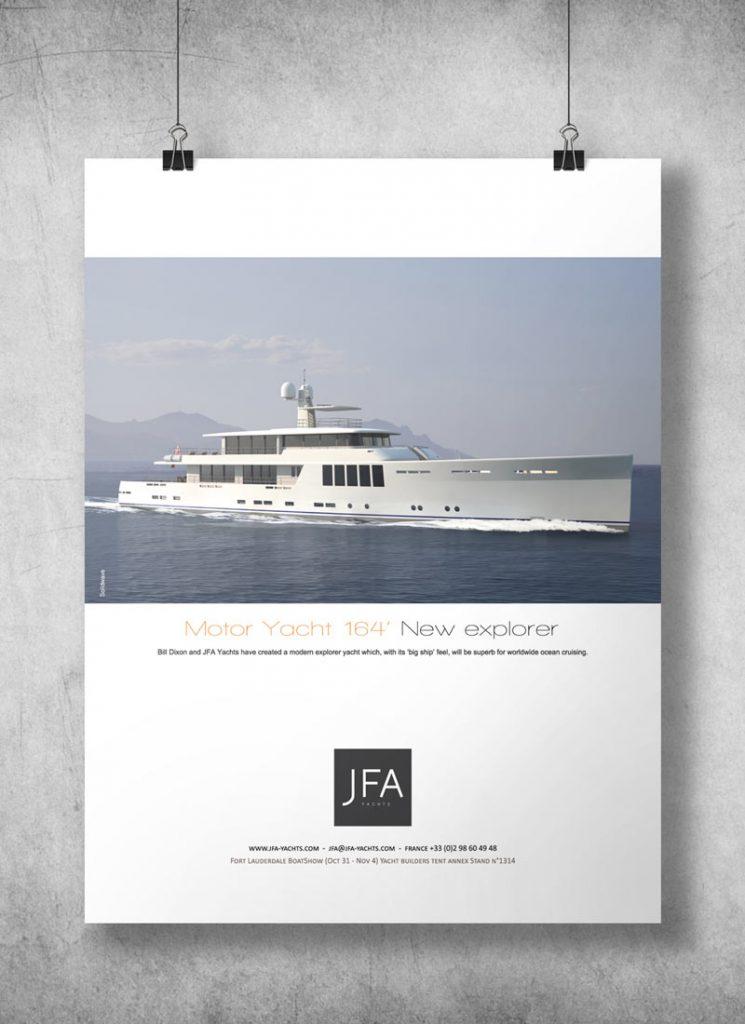 Publicité magazine • JFA Yachts