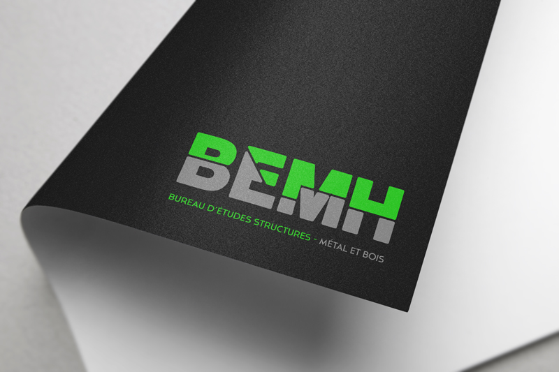 Logo fond foncé • BEMH