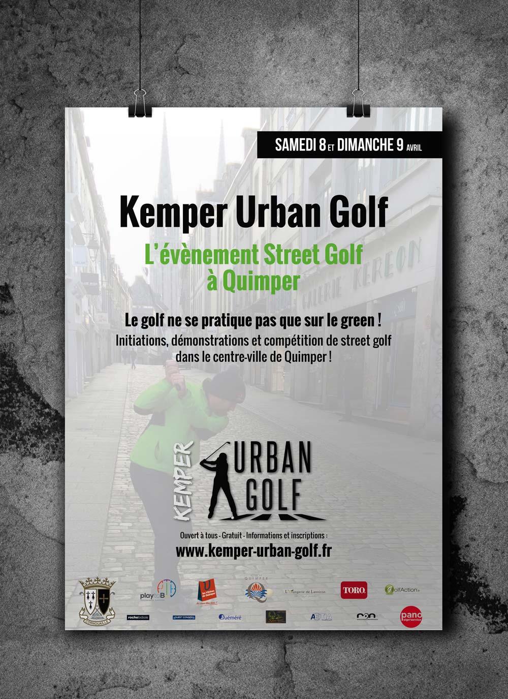 Affiche • Kemper Urban Golf
