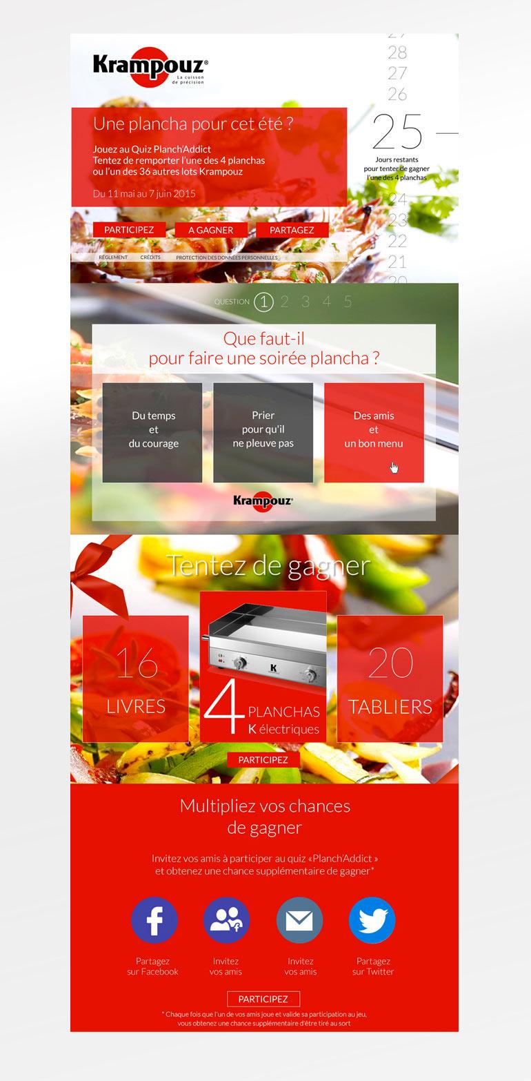 Webmarketing • Krampouz
