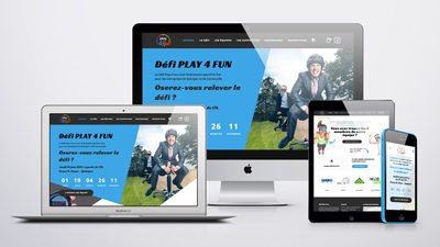 Site e-commerce • Play 4 Fun