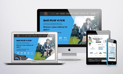 Site e-commerce • Play 4 Fun