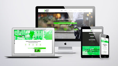 Site internet • Kemper Urban Golf