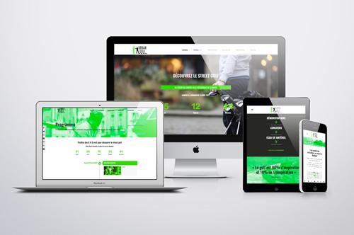 Site internet • Kemper Urban Golf