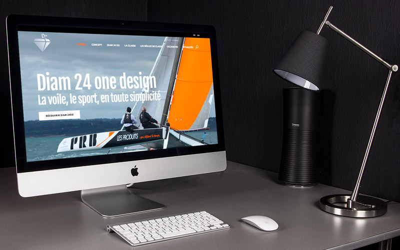 Site internet • Diam 24 one design