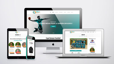 Site internet • Ergue Quimper Handball
